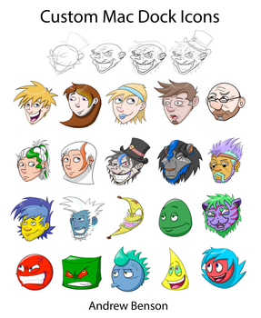 The Banana Chronicles - Dock Icons by Andros818
