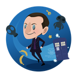 Day 228 - the ninth doctor by salvadorkatz