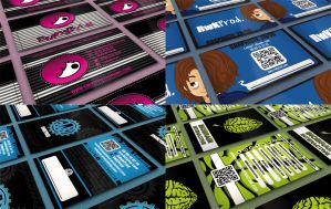 Some Business Cards by AnotherDeviantLoser