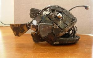 welded angler fish by edstuff