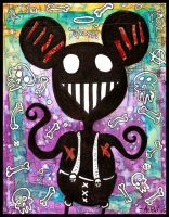 Mickey Mouse by justinaerni