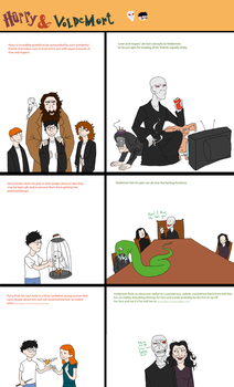 HP: Harry and Voldemort by In-The-Machine