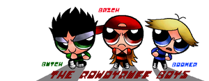 The Rowdyruff Boys by Hopemaydie