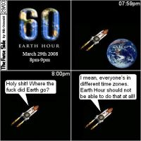 Earth Hour by niboswald