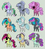*FREE* Pixel Pony Adoptables (Batch #1) CLOSED by AdoptablesExpress