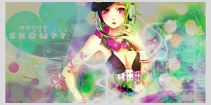 Vocaloid Gumi Signature by blueangel06661