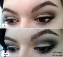 Day to Night makeup look by KatelynnRose