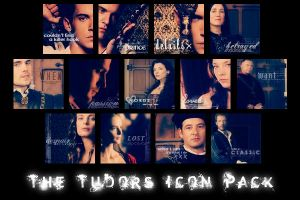 The Tudors Icon Pack by Firlachiel