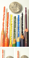 Pencil Carving Examples by pahein