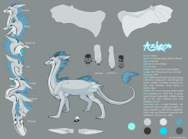 Azheryn Reference Sheet by Wolvenish