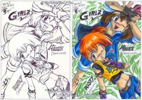 Girlz - Misty and May 2004 by MiyaToriaka