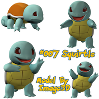 007 Squirtle by imago3d