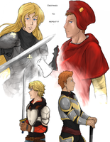 The knight and the Cardinal by LutherOMight