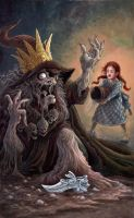 How Dorothy melted the Witch by GoldenDaniel