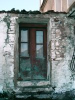 old rusty door by ftourini-stock