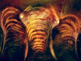 Red Mammoth by RuslanKadiev