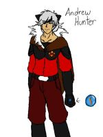 Andrew Hunter New Magma Team Uniform by blackzero04
