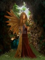 Lady of the forest by sweetangel1