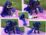 I wear my Sun glasses @ night Princess Luna Custom by DjPon33