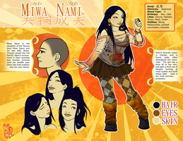 Character Sheet -- Nami by subomouse