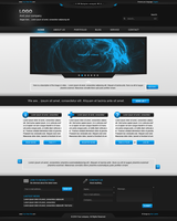 Creative Portfolio Web design by Lednik
