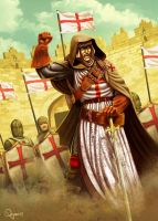 - Knight Templar - by sergio-quijada