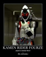 Motivation - KamenRider Fourze by Songue