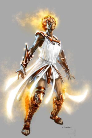 God of War III- Hermes