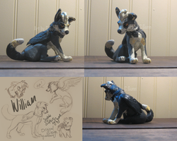 William Sculpture by InstantCoyote