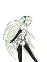 Vocaloid Miku Append by dragonartist22