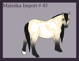 Malenka Import 45 by Alison-K