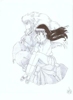 Inuyasha and Kagome _redone_ by jessica123456789