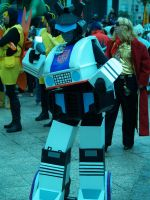 My G1 Jazz Cosplay by Transformersfan4ever