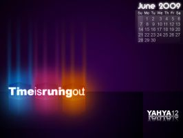 June Calendar-time_is_runing by yahya12