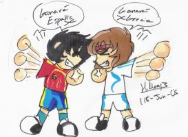 spain vs greece by yami11