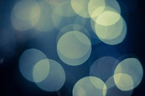 Blue Bokeh by itznikki530