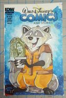 Just Another Space Raccoon Comic Sketchcover by DaphneLage