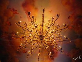 Be Our Guest- Ballroom Ceiling by MissMachineArt