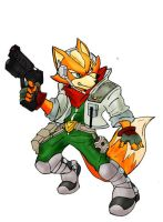 Fox Mccloud from Star Fox by Mbembe
