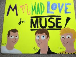 Muse Poster by TheSimpsonsFanGirl