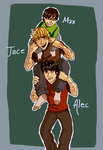 Lightwood bros by MischiefSister