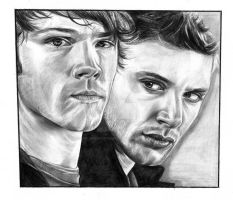 Supernatural by girlinterruptedbyart