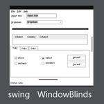 swing WindowBlinds by Jundai