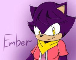 Sonic channel practice: Ember by Angel-Hearted-Being