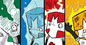 Castle Crashers Magic Backfire by ObliviousRemembrance