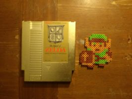 The Legend of Zelda Beadsprite by 8bitsofawesome