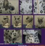 Painted Gas Mask: Snow Mew 2 by Catwoman69y2k