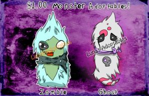 Scarfblob Monster Adoptables [closed] by Lunas-Adoptables