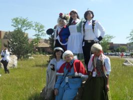 Our group at ColossalCon11 by crazygirl2015