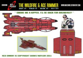 Ace Rimmer And Wildfire by mikedaws